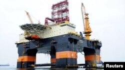 Scarabeo - La firma española Repsol empezó a perforar en enero un pozo profundo en aguas cubanas.