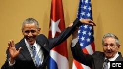 Conferencia de prensa de Barack Obama y Raúl Castro