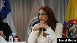 La ministra de Salud de Venezuela, Antonieta Caporales.