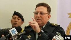 El general Julio César Avilés, jefe del Ejército de Nicaragua.