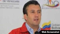 Tareck El Aissami, vicepresidente ejecutivo de Venezuela.