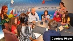 1800 Online con Rita Rosa Ruesga, Mari Mari y sus alumnos