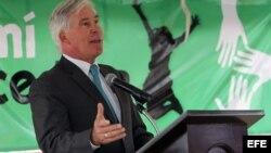 El encargado de negocios de Estados Unidos en Bolivia, Peter Brennan. EFE