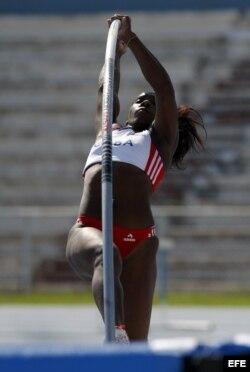 ARCHIVO. La atleta cubana Yarisley Silva.