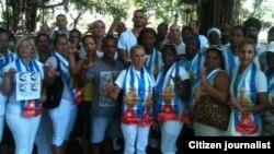 Programa ONU para el Desarollo al tanto de acusaciones de las Damas de Blanco
