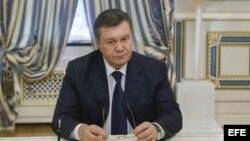 Foto de archivo de Viktor Yanukovich.