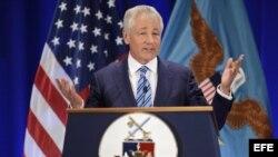 El secretario de Estado estadounidense, Chuck Hagel. Foto de archivo