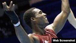 Julio César de la Cruz boxeador cubano