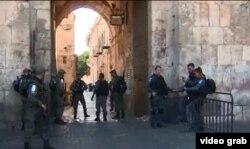 La policía israelí refuerza la guardia en la Puerta de los Leones tras atentado terrorista