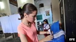 Elecciones generales en Cuba para elegir a diputados nacionales y provinciales.