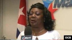 Berta Soler durante su visita a martinoticias el pasado mes de mayo.