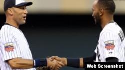 El cubano Alexéi Ramírez sustituye y despide a Derek Jeter en su último Juego de las Estrellas