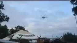 Helicópteros y fuerzas militares nicaragüenses rodean la frontera para impedir el paso a los cubanos