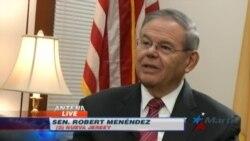 Bob Menendez retoma puesto como jefe de la minoría en Comité de Relaciones Exteriores del Senado