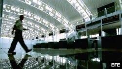 El aeropuerto Internacional Juan Santamaría de Costa Rica.