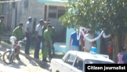 Reporta Cuba. Operativo en Palma Soriano.