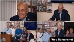 José Luis Fernández Preside el Presidio Político Histórico Cubano /Foto Wenceslao Cruz