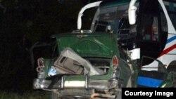 Accidente en Holguín