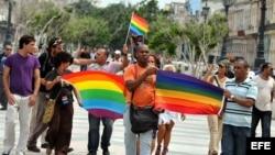 Marcha independiente por el Orgullo Gay en La Habana