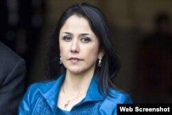 Nadine Heredia, esposa del expresidente de Perú, Ollanta Humala.