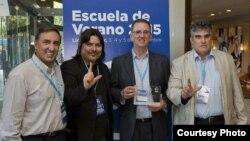 Entrega del Premio Oswaldo Payá a la organización Puertas Abiertas