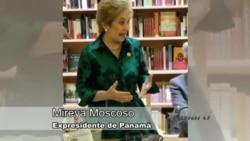 Mireya Moscoso expresidenta de Panamá