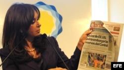 Cristina Fernández contra la libertad de expresión