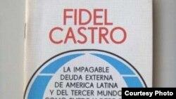 Libro de Fidel Castro sobre la deuda externa.