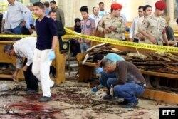Los atentados contra iglesias cristianas en Egipto dejaron 37 muertos y un centenar de heridos