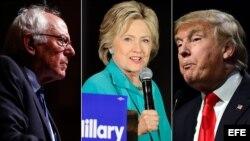 Bernie Sanders, Hillary Clinton y Donald Trump, ¿quién será el próximo presidente de EEUU?