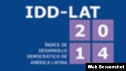 Índice de Desarrollo Democrático América Latina 2014.