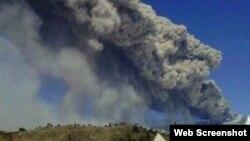 Chile volcán Copahue