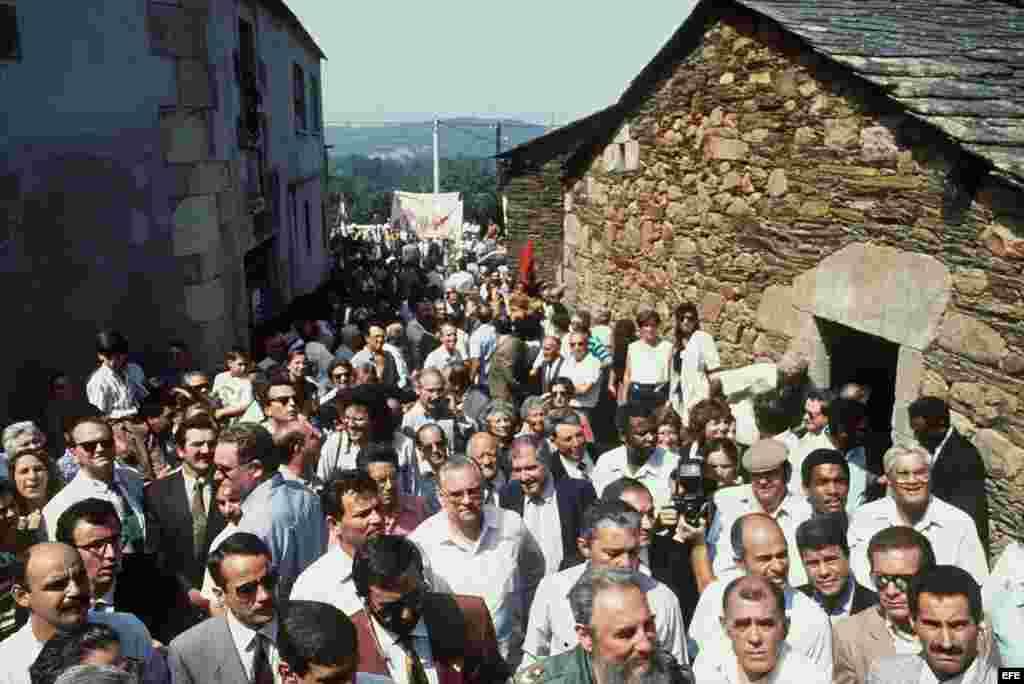 La visita de Fidel Castro a Lugo