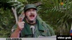 El cabecilla de las FARC, alias Timochenko.