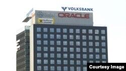 Edificio de Oracle en Bucarest, capital de Rumanía.