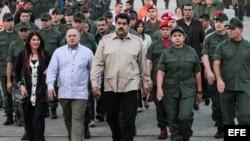 Maduro lanza nuevo canal de las Fuerzas Armadas de Venezuela