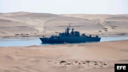Un barco de guerra iraní. Archivo.