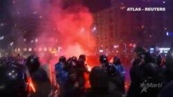 Decenas de detenidos en las protestas de Rumanía