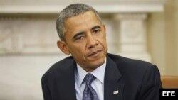 Foto de archivo del presidente de Estados Unidos, Barack Obama.
