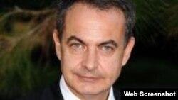 José Luis Rodríguez Zapatero, ex presidente del Gobierno español.