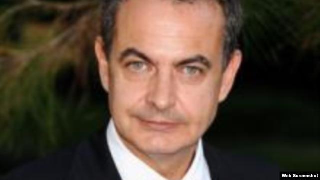 El ex presidente del gobierno español José Luis Rodríguez Zapatero.
