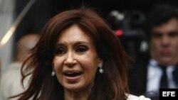 La presidenta de argentina, Cristina Kichner