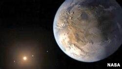 El extraño planeta fue detectado por el telescopio espacial Kepler.