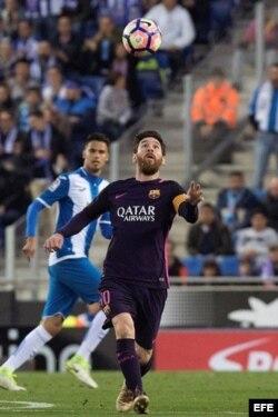 Lionel Messi (c).