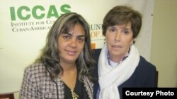 Sara Marta Fonseca y Mari Paz Martínez Nieto