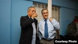 Marambio y el presidente Piñera