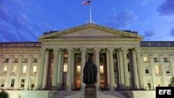 Edificio del Departamento del Tesoro de EE.UU., en Washington.