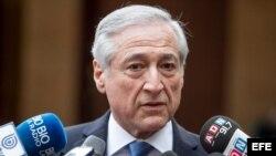 El ministro de Exteriores de Chile Heraldo Muñoz.