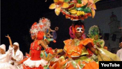 Festival del Caribe en Santiago de Cuba.