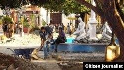 Arreglos en zonas céntricas de Baracoa